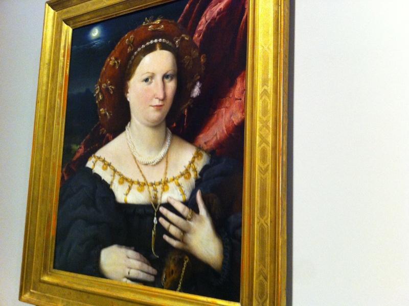 Lorenzo Lotto - Ritratto di Lucina Brembati