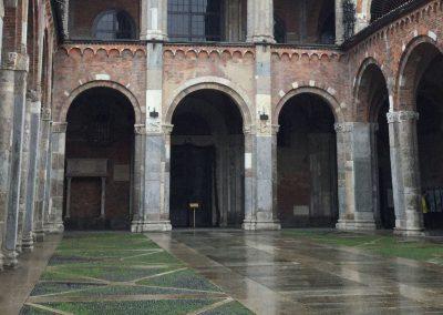 Basilica di Sant'Ambrogio - Particolare