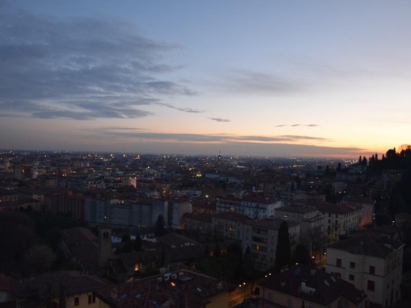 Bergamo Bassa vista dalle Mura Venete