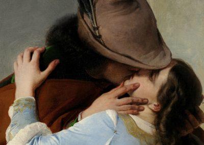 Il bacio - Dipinto di Francesco Hayez