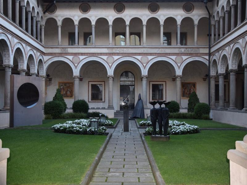 Bergamo Bassa, Chiostro di Santa Marta