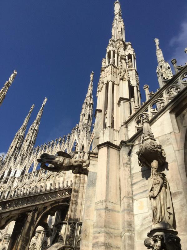 Duomo, veduta dalle terrazze