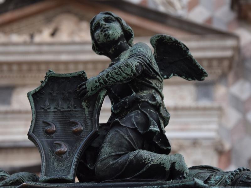 Bergamo Alta, Cappella Colleoni, stemma colleonesco
