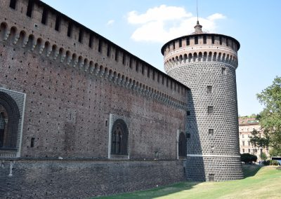 Castello Sforzesco - Torre del Carmine