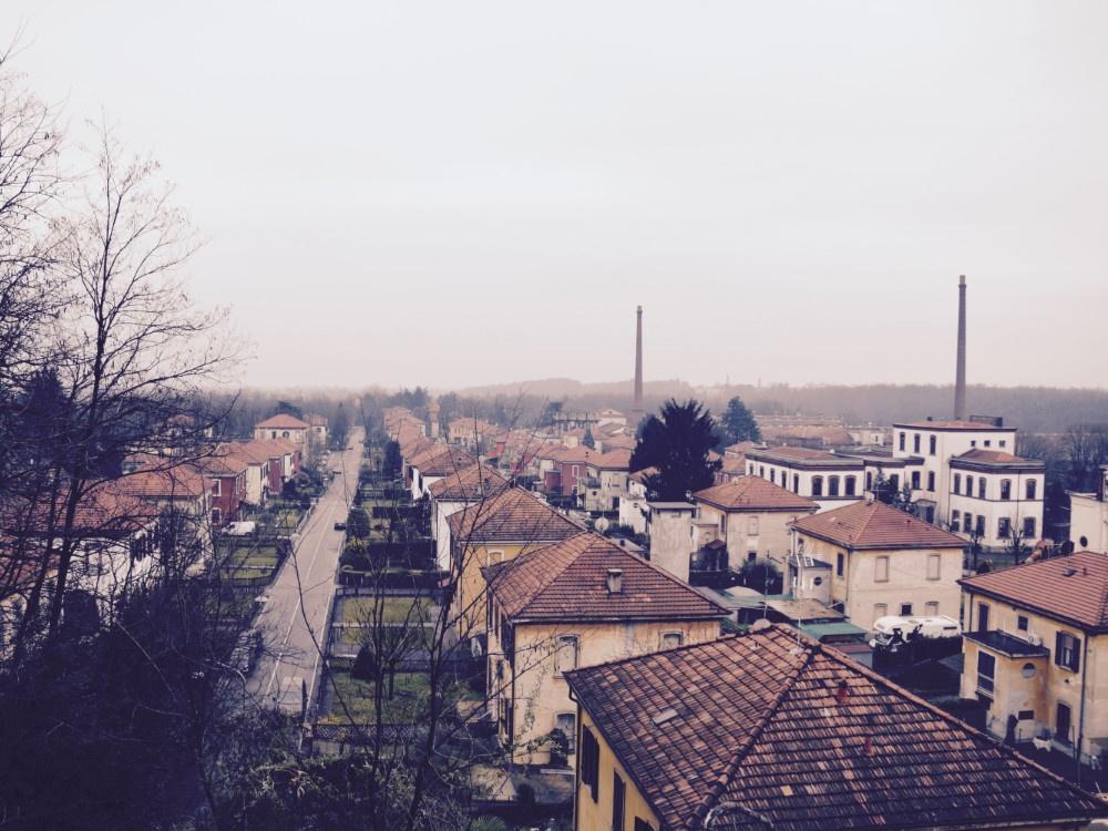 Villaggio Operaio di Crespi d'Adda, veduta panoramica