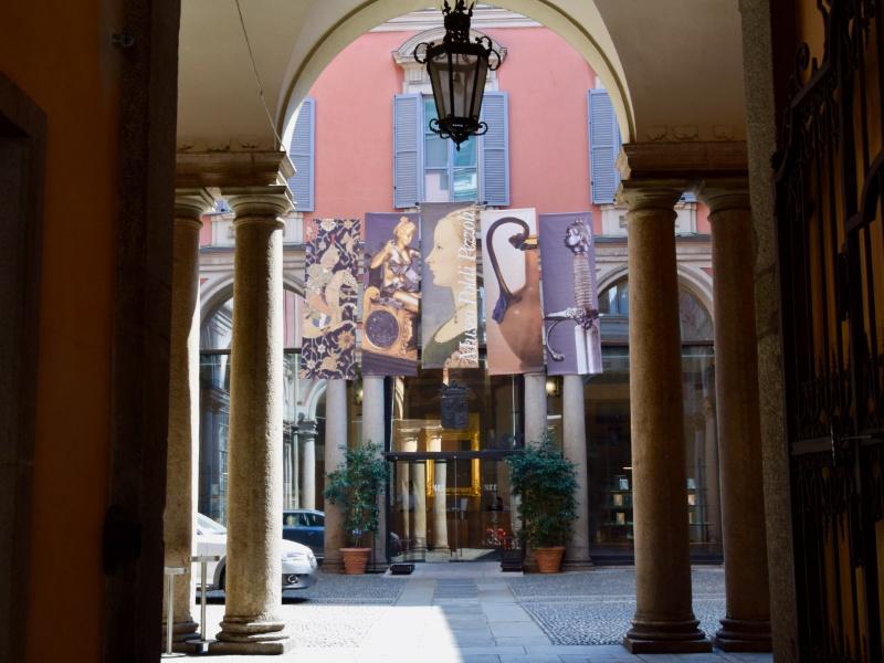 Museo Poldi Pezzoli, dettaglio cortile