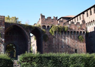 Castello Sforzesco - Rivellino di Santo Spirito