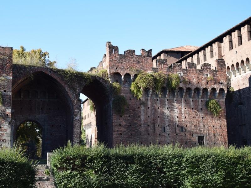 Castello Sforzesco, rivellino di Santo Spirito