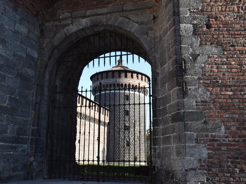 Castello Sforzesco, torre di Santo Spirito
