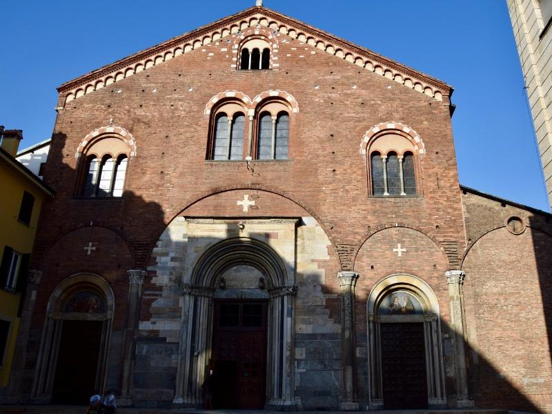 Basilica di San Simpliciano, facciata