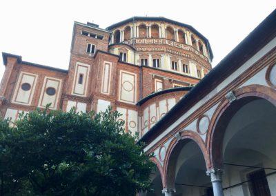 Chiesa di Santa Maria delle Grazie, Tribuna Bramantesca