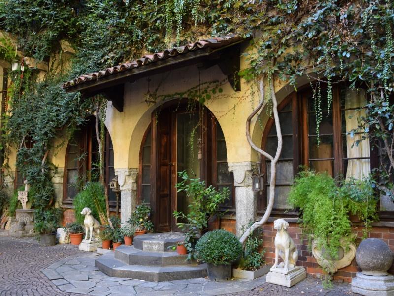 Casa degli Atellani, cortile