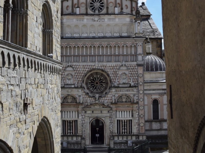 Cappella Colleoni - veduta esterna