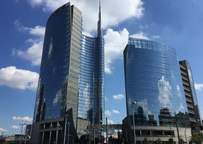 """La Milano dei  """"grattanuvole"""""""