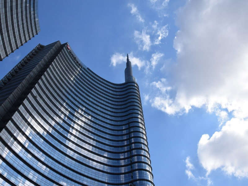 Torre UniCredit, particolare