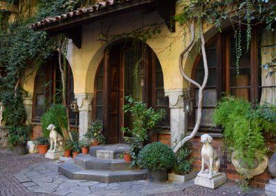 Casa degli Atellani - Cortile