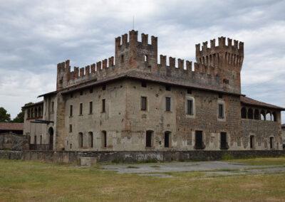 Castello di Malpaga - Esterno