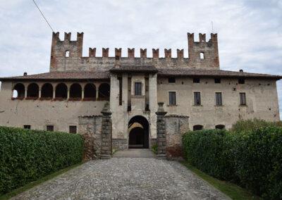 Castello di Malpaga - Facciata