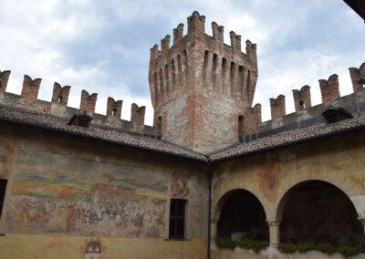 Castello di Malpaga - Particolare