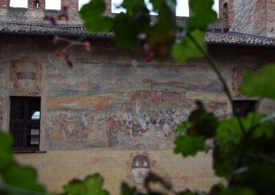 Castello di Malpaga - Dipinto esterno