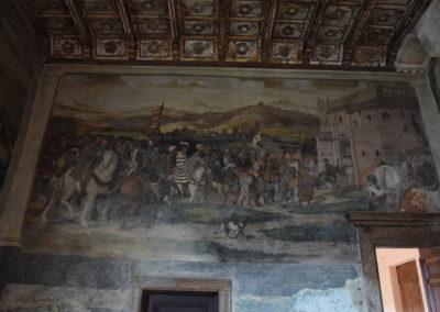 Castello di Malpaga - Particolare dipinto